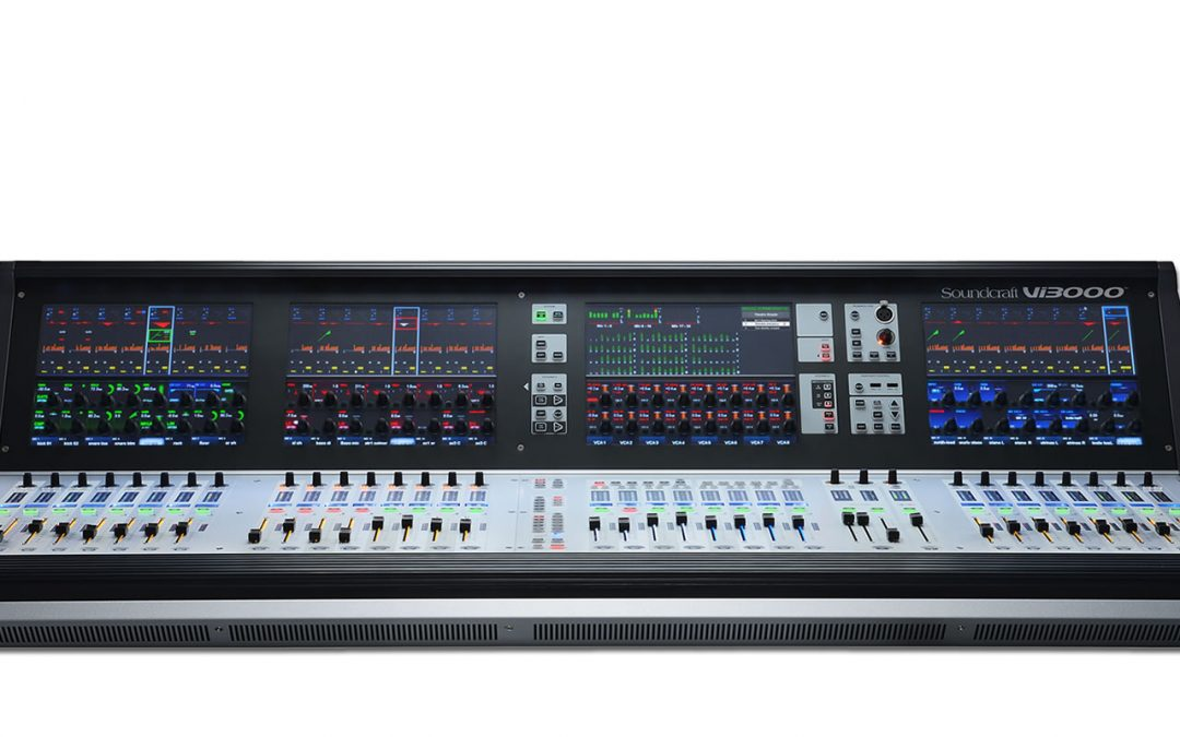 NEW! Soundcraft VI3000 for Production Inventory